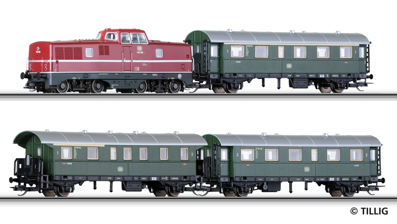 DB Passenger Starter Train Set